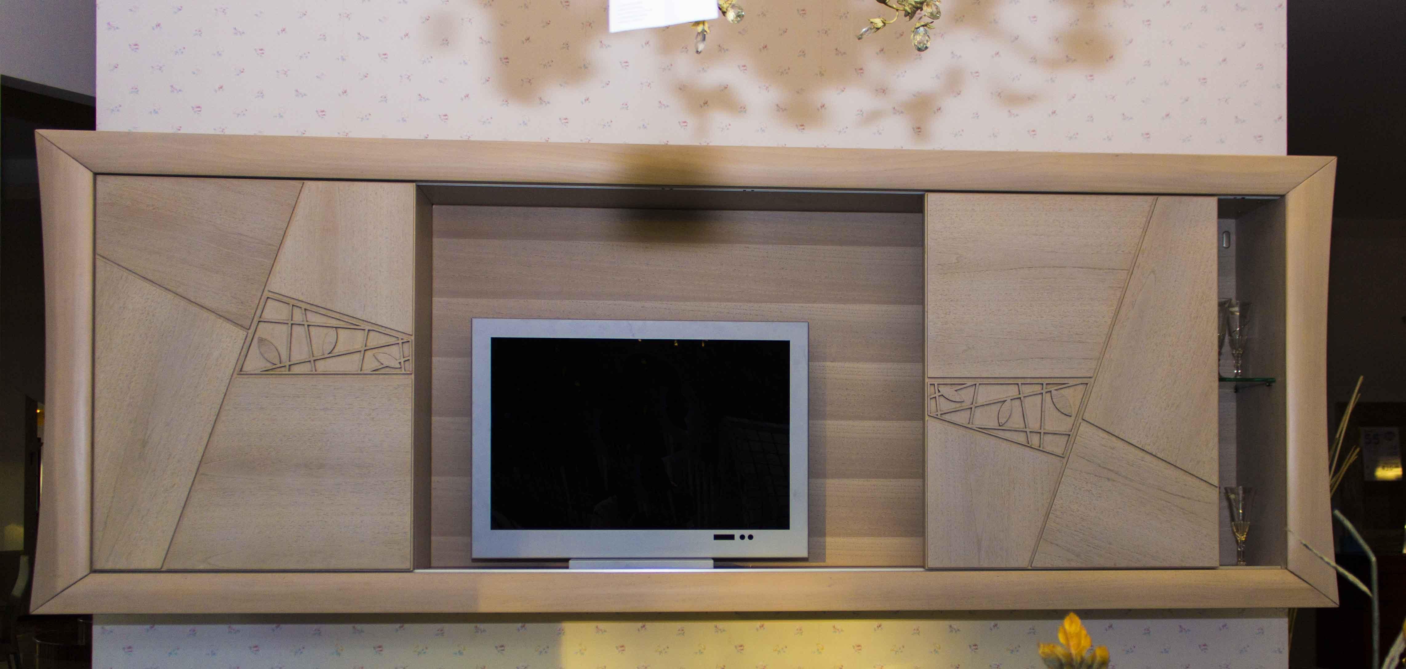Pensile porta tv modo10 decor lux scontato del 68 for Modo 10 decor prezzi