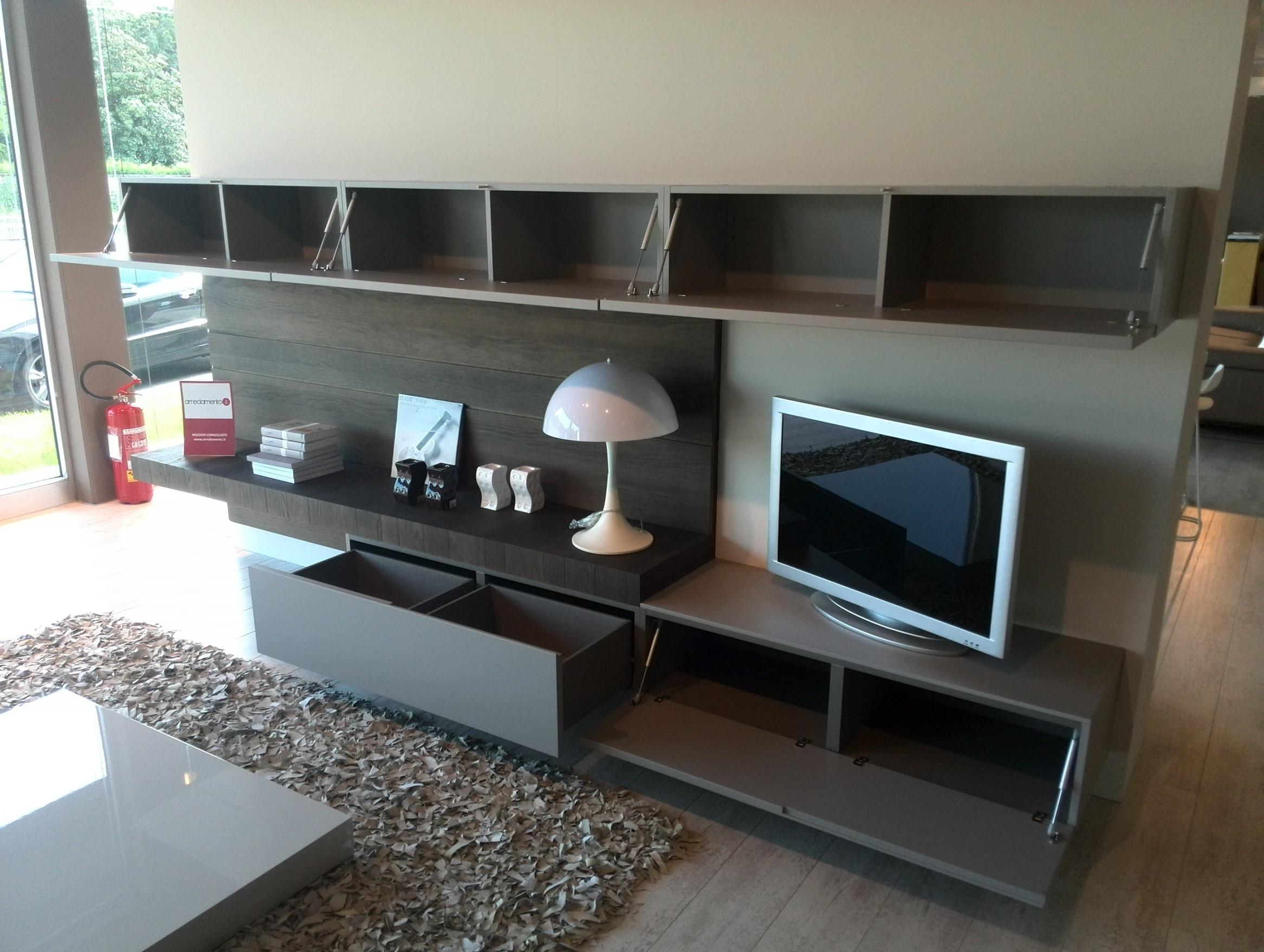 Soggiorno modulnova face laccato opaco componibili for Arredamento casa soggiorno