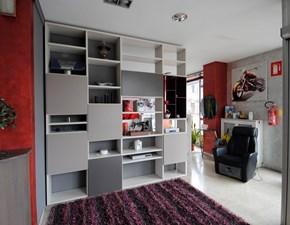 Libreria Novamobili Frassino Tortora 1
