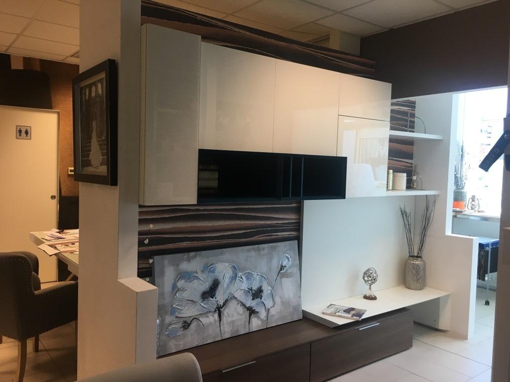 soggiorno novamobili porta tv con libreria legno componibili ... - Libreria Novamobili Soggiorno 2