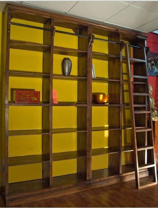 Soggiorno nuovi mondi cucine libreria noce c scala soggiorni a prezzi scontati - Cucine etniche arredamento ...