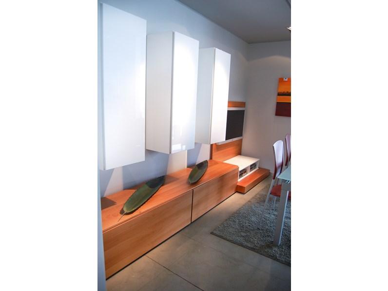 Soggiorno Doimo Design Soggiorno moderno doimo design legno scontato ...