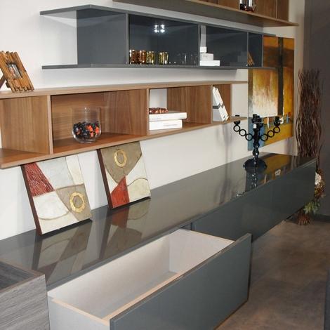 soggiorno open design moderno scontato del 44