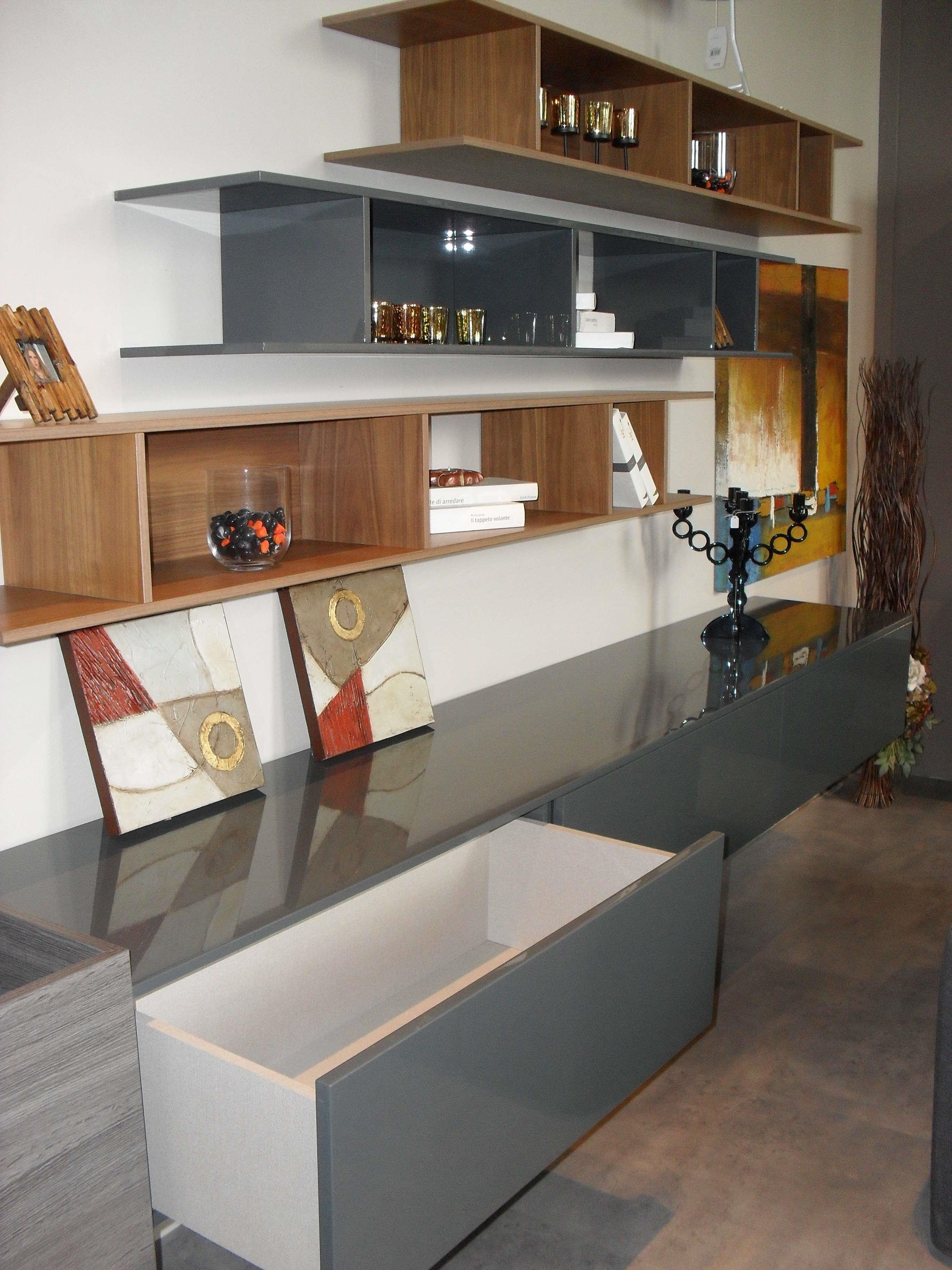 Soggiorno open design moderno scontato del 44 - Design soggiorno moderno ...