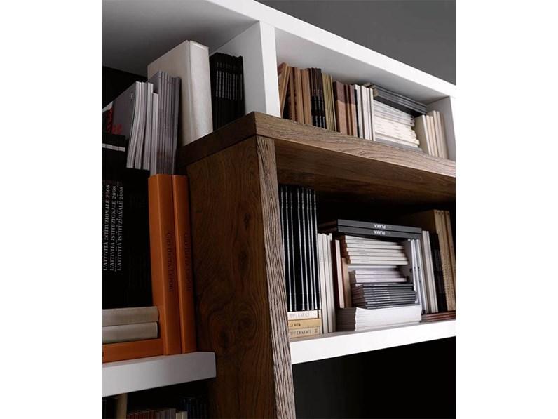 Soggiorno pacema soggiorno di legno legno librerie moderno for Arredamento soggiorno moderno in legno