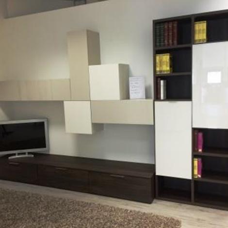 Soggiorno novamobili mobili legno legno pareti attrezzate for Pareti attrezzate soggiorno