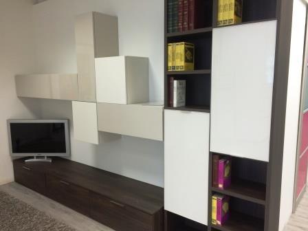 Soggiorno NovaMobili mobili legno Legno Pareti attrezzate Design - Soggiorni a prezzi scontati