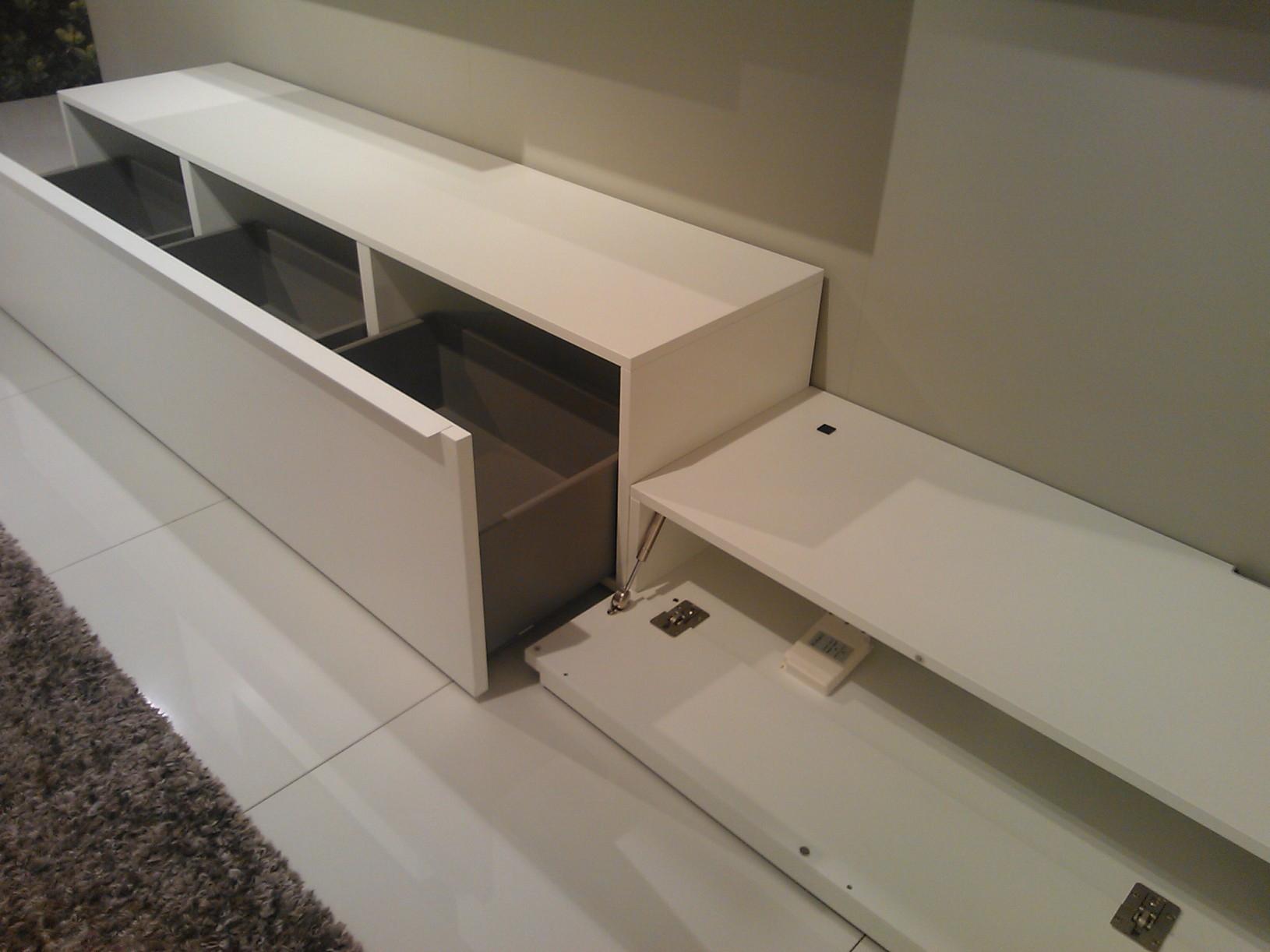 Soggiorno pianca spazio laccato opaco soggiorni a prezzi - Pianca mobili soggiorno ...