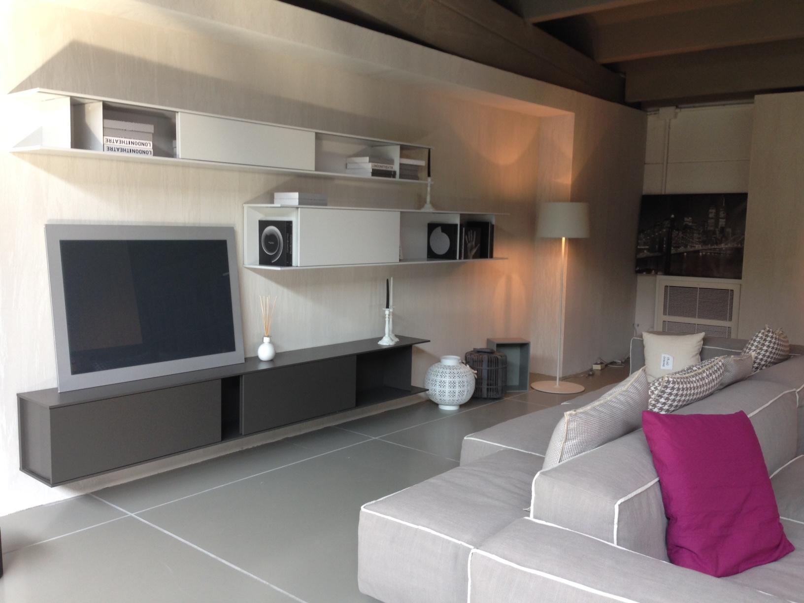 Soggiorno poliform skip laccato opaco pareti attrezzate design soggiorni a prezzi scontati - Pareti attrezzate design ...