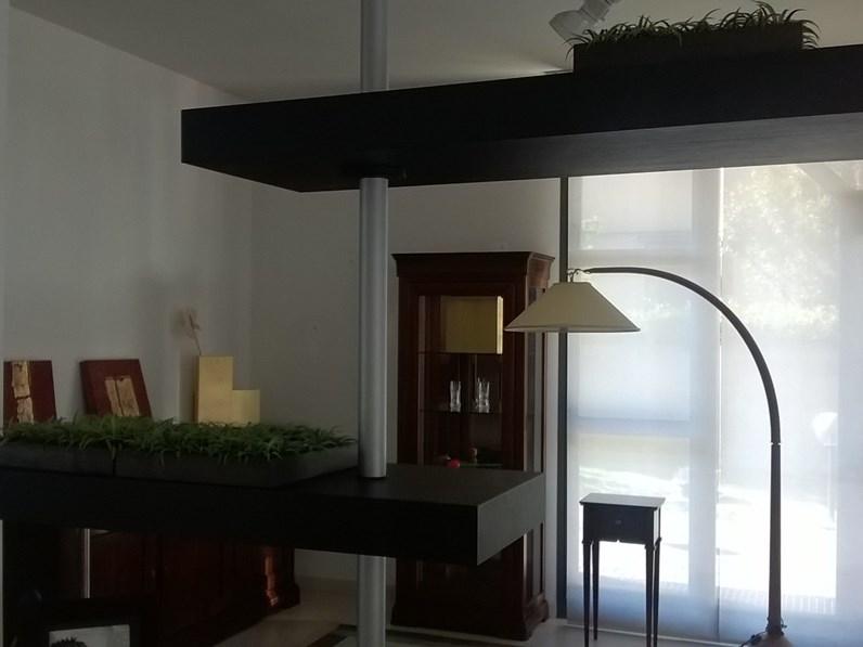 Porada soggiorno domino legno librerie design for Librerie design outlet