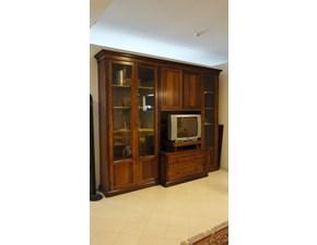 Soggiorno porta tv in legno scontato del -70%