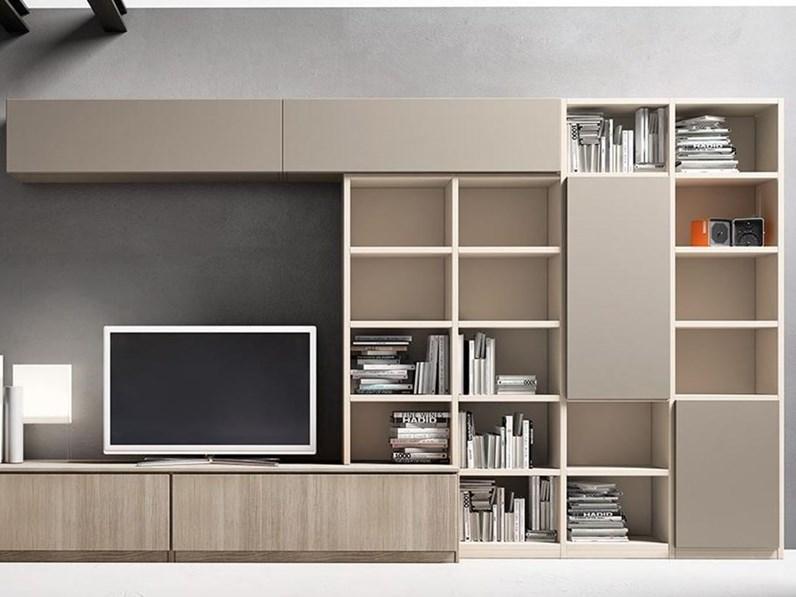 Mobili soggiorno porta tv libreria e mobile contenitore for Mobili porta tv moderni economici
