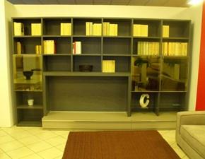 Soggiorno Robur Alisei Legno Librerie Moderno