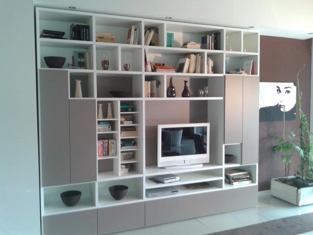 Romagnol mobili soggiorno libreria personal scontato del for Soggiorno libreria