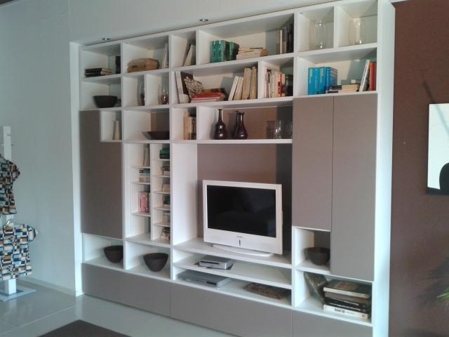Romagnol mobili soggiorno libreria personal scontato del  40 ...