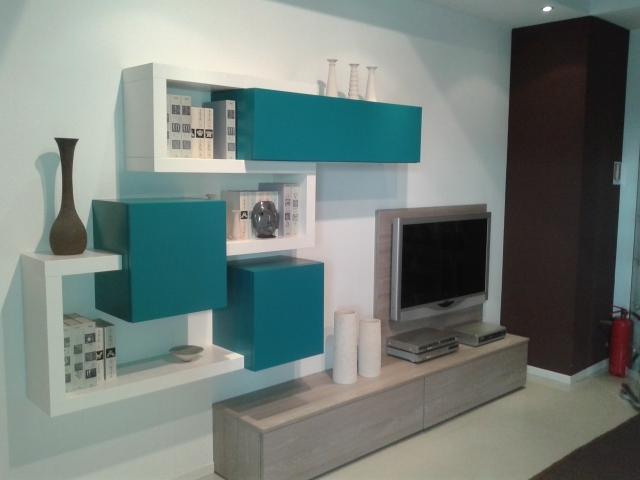 Soggiorno mobilgam soggiorno componibile personal light - Mobili soggiorno componibili ...