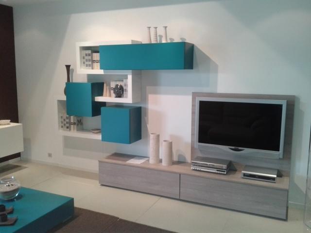 mobile soggiorno turchese ~ dragtime for . - Soggiorno Bianco E Turchese 2