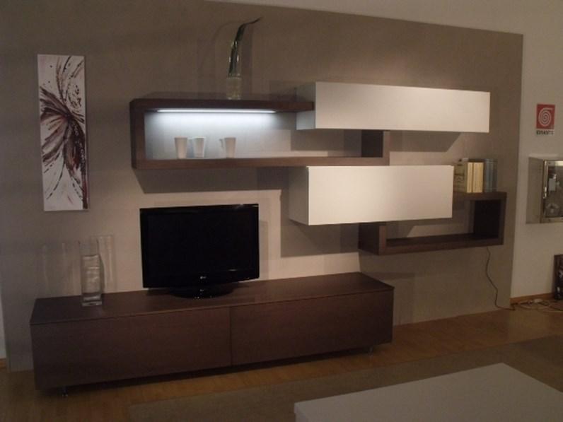 Soggiorno sangiacomo living system lampo legno pareti for Soggiorno living moderno