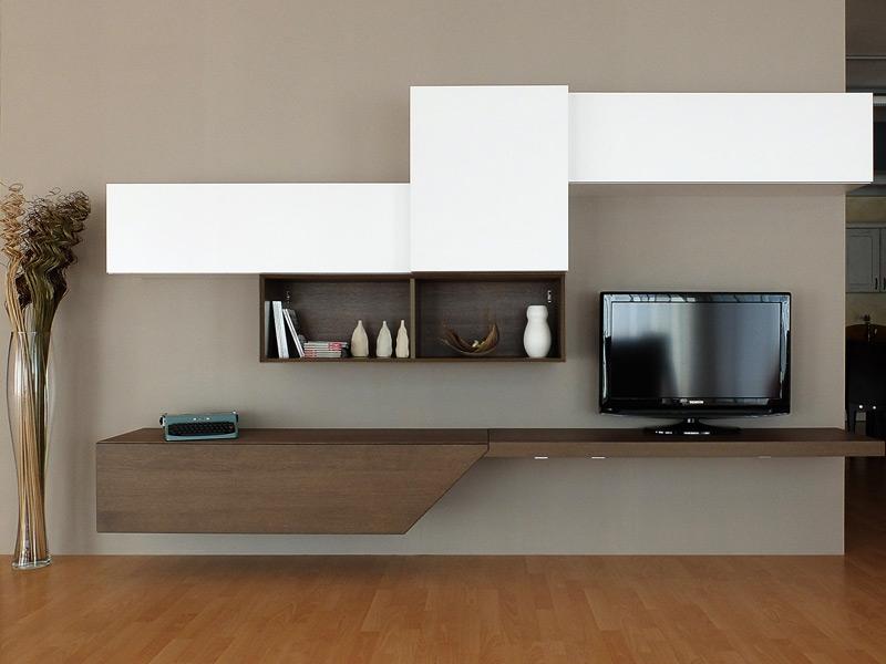 Soggiorno moderno rovere grigio - Santarossa mobili prezzi ...