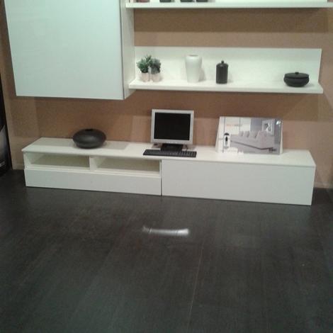 Soggiorno siltre minimal laccato opaco porta tv moderno ...