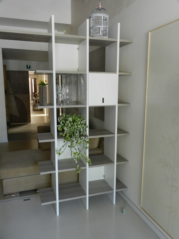 Soggiorno sistemacamelot libreria modulare sistema camelot - Mobili separatori ...