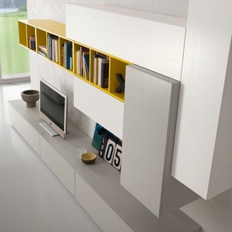 Pareti soggiorno attrezzate foto di pareti attrezzate dal for Scavolini pareti attrezzate