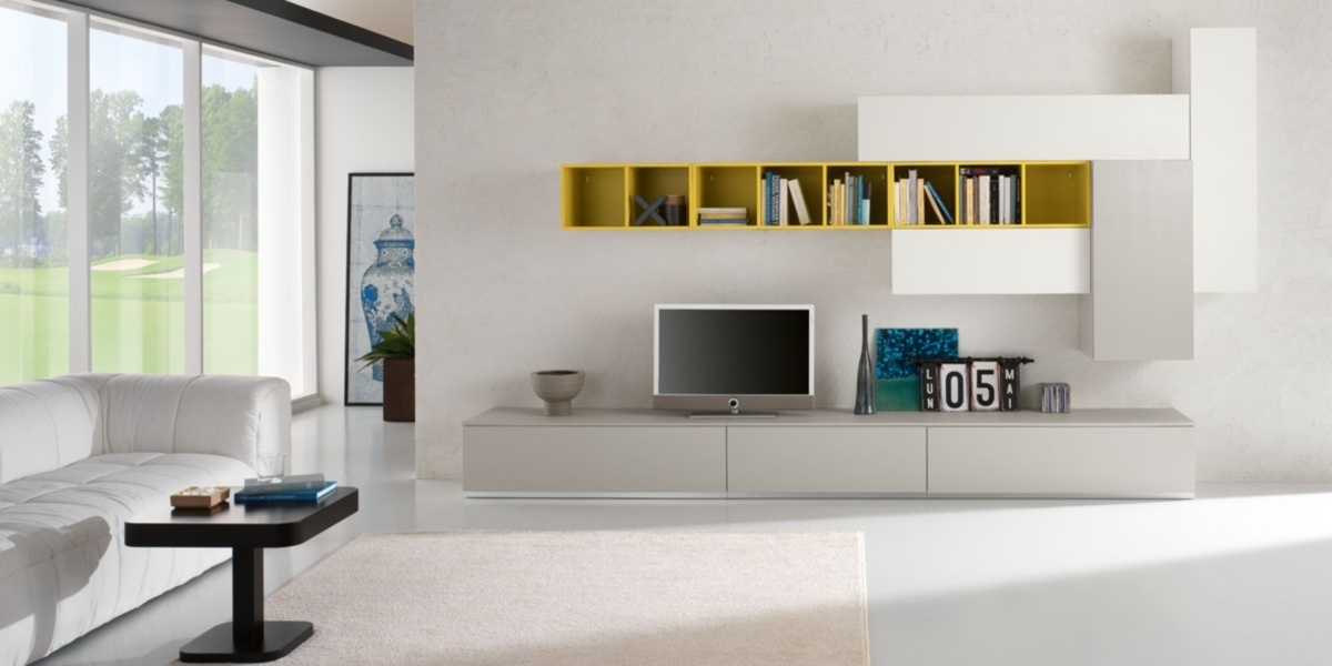1000 images about pareti attrezzate on pinterest modern wall units ...
