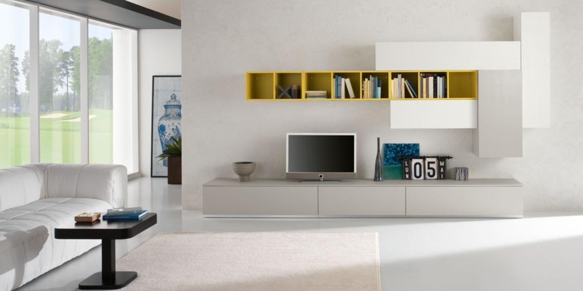 Soggiorno spar exential laccato opaco pareti attrezzate design soggiorni a prezzi scontati - Pareti attrezzate design ...