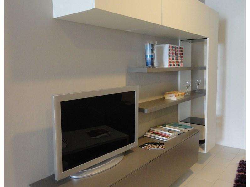 Soggiorno tomasella atlante laccato opaco porta tv design for Mopar arredamenti