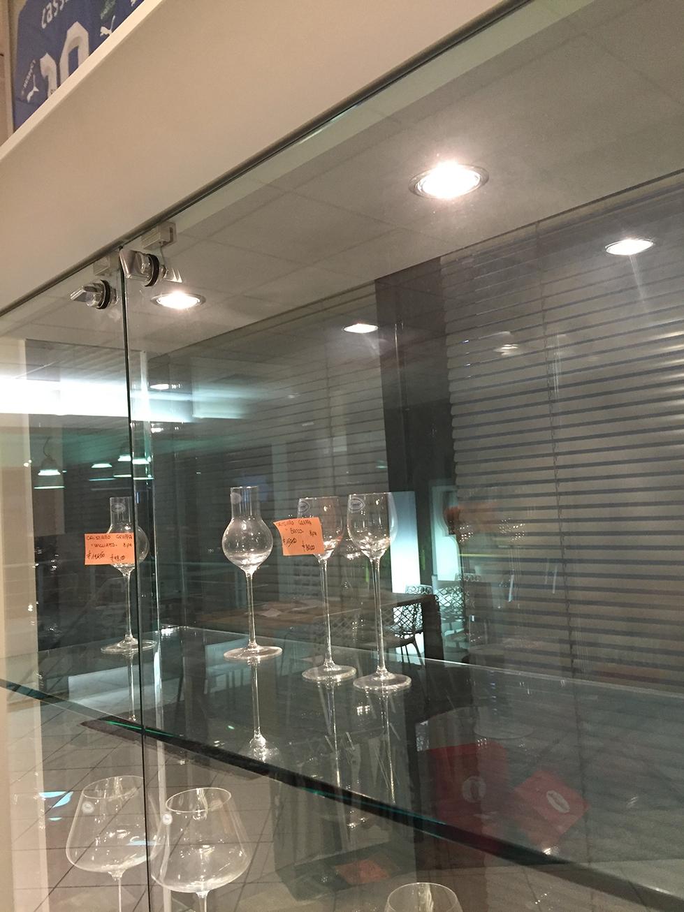 Soggiorno Tonin Casa Vetrinetta cristallo - Soggiorni a prezzi ...