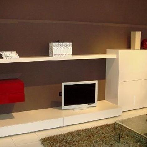 Verardo soggiorno kronos laccato lucido pareti attrezzate design ...
