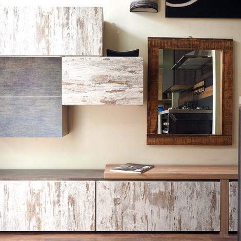 soggiorno zen white etnico moderno legno vintage in offerta - Soggiorni a pre...