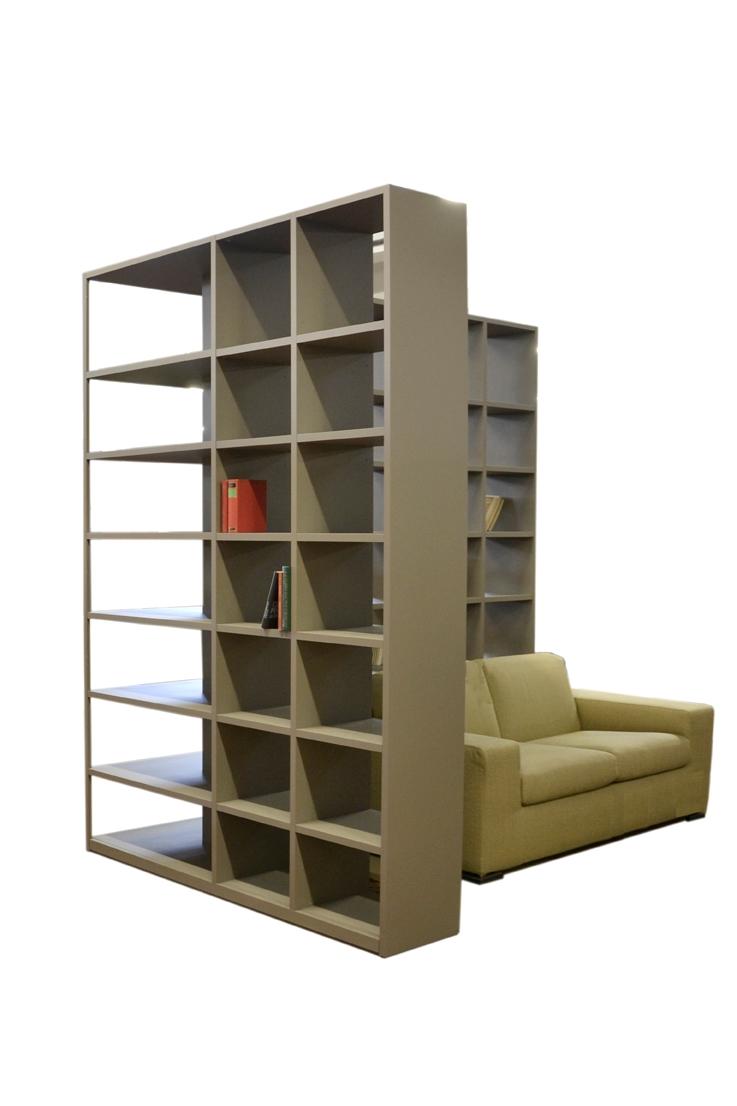 Tisettanta soggiorno metropolis laccato opaco librerie for Tisettanta outlet