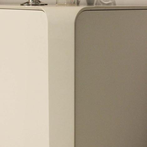 varaschin soggiorno curvex laccato opaco madie design  soggiorni, Disegni interni