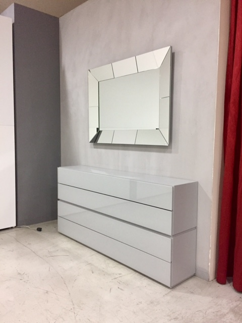 Mobili Soggiorno Vetro: Soggiorno rimadesio abacus vetro pareti attrezzate design soggiorni.