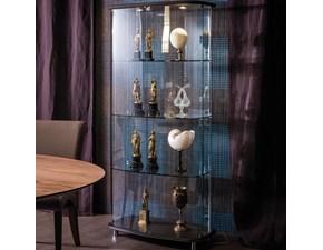 Vetrina in cristallo stile design Concerto Cattelan