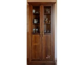 Vetrinetta Art.500-vetrina in legno Mirandola in legno in Offerta Outlet