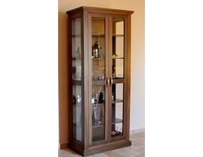 Vetrinetta Art.501-vetrina in legno Mirandola con uno sconto esclusivo
