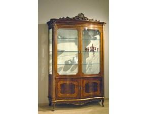 Vetrinetta Artigianale in legno Art. P203  a prezzo Outlet