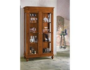 Vetrinetta Artigianale in legno Vetrina a 2 ante stile arte povera scontata del 40% a prezzo Outlet