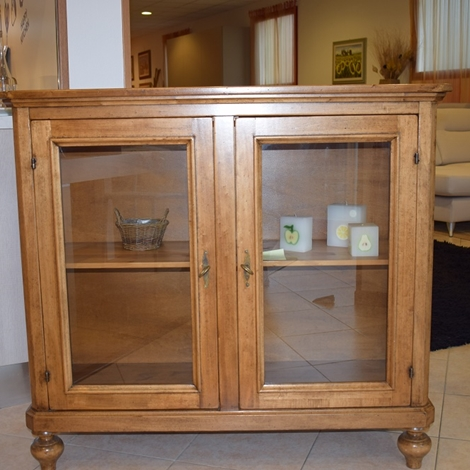 Vetrinetta in legno in stile classica soggiorni a prezzi - Soggiorni in legno ...