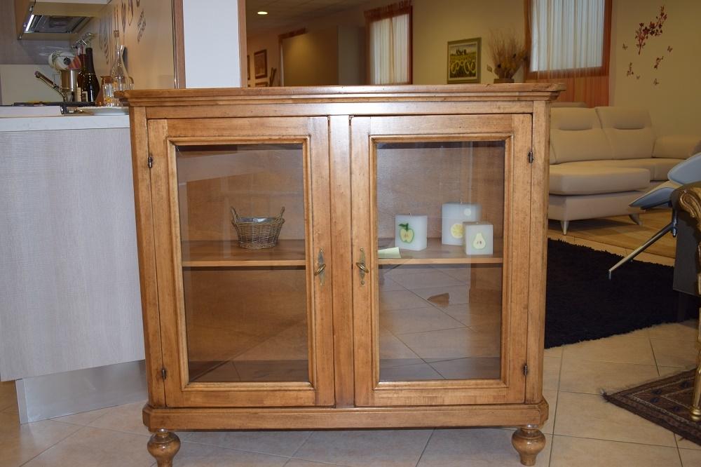Vetrinetta in legno in stile classica soggiorni a prezzi scontati - Soggiorni in legno ...