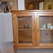 vetrinetta in legno stile classico