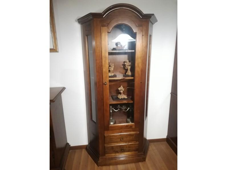 Vetrinetta In legno massello in stile classico a prezzo ribassato