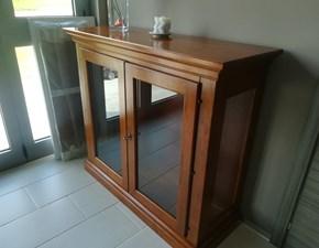 Vetrinetta in legno stile classico Arte povera Santarossa