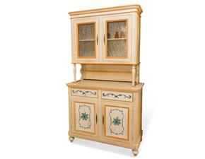Vetrinetta in legno stile classico Cristalliera Artigianale