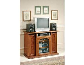 Vetrinetta in legno stile classico Mobile-porta-tv scontato del 35% Artigianale