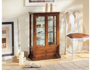Vetrinetta Modello quadrifogli Artigianale in legno a prezzo Outlet
