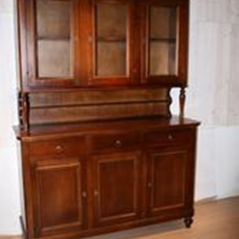 Vetrinetta Napoletana 3 ante in legno , stile classico - Soggiorni a prezzi s...