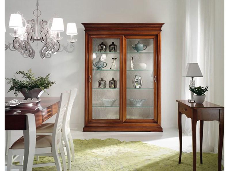 Vetrinetta vetrina in stile shabby chic mottes mobili for Offerta mobili